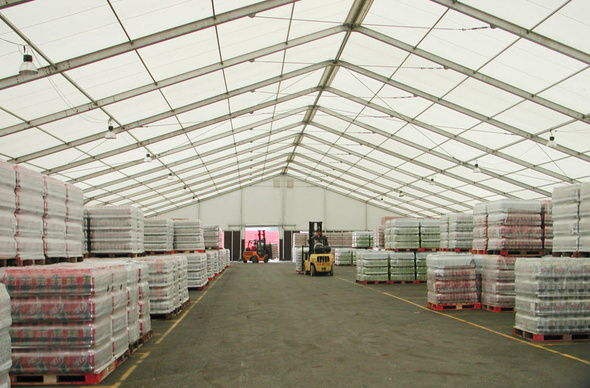 Warehouse Storage Tents